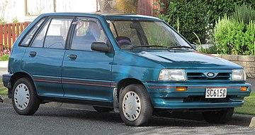 Facelift Ford Festiva GL New Zealand 1991 1993