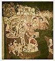 19th century copy of 1st century BCE to 5th century CE Ajanta Cave 2 painting Hariti and Kubera 2b.jpg