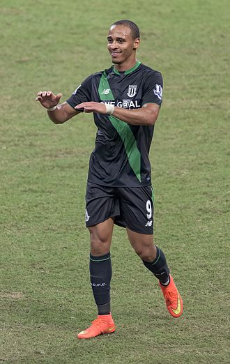 Peter Odemwingie - Odemwingie appearing for Stoke City in 2015