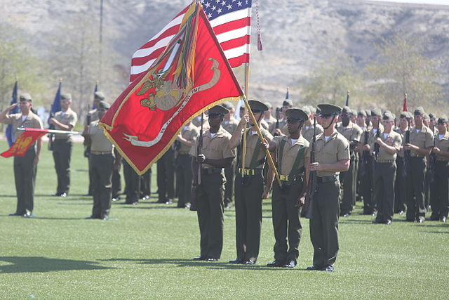 File:1st Marine Division, Headquarters Bn. change of command 140729-M ...