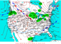 2004-01-23 Surface Weather Map NOAA.png