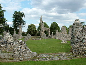 Thetford - Priory ruins