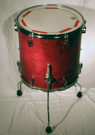 Floor tom - 16x16 floor tom with traditional mounting