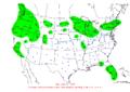 2007-02-27 24-hr Precipitation Map NOAA.png