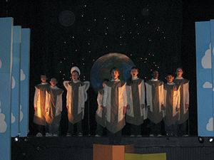 A Very Merry Unauthorized Children's Scientology Pageant - Finale, 2007 Philadelphia production