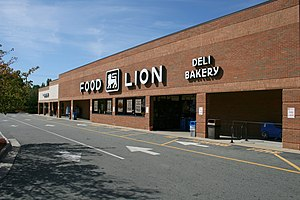 Food Lion - Food Lion in Durham, North Carolina.