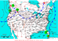 2009-05-19 Surface Weather Map NOAA.png