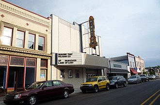 Cheboygan, Michigan - Kingston Theater in Downtown Cheboygan