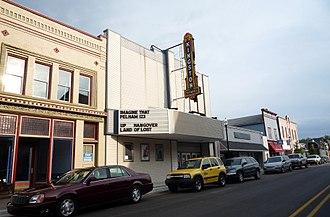 Cheboygan, Michigan - Kingston Theater, downtown Cheboygan