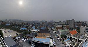 Onyang-dong - Panorama of Onyang