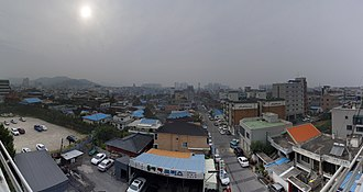 Asan - Image: 2009 09 25 Panorama of Onyang