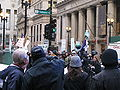 2009-11-30 - Chicago Climate Justice activists in Chicago - Cap'n'Trade protest 001.jpg