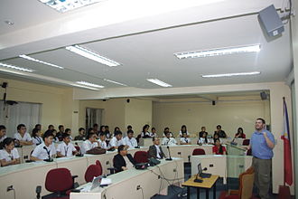University of the City of Manila - Inside a lecture room of the university