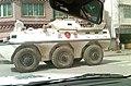 2011 China's Armored Vehicle for Crackdown in Tawu, Tibet 中國在西藏 - 圖博康區道孚鎮壓西藏人民的裝甲運兵車.jpg