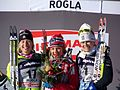 2011 Rogla FIS Cross-Country World Cup, podium (5).jpg