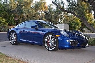 Porsche 991 - 2012 Porsche 911 Carrera S