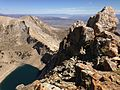 2013-09-09 12 31 27 View of the central Verdi Peak and Verdi Lake from Verdi Peaks.jpg