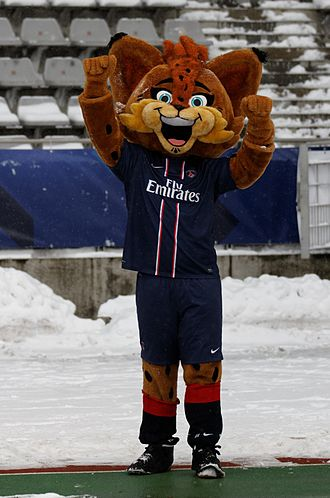 Paris Saint-Germain F.C. - Germain the Lynx was unveiled at the Tournoi de Paris.