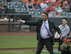 2013 Baltimore Orioles Hall of Fame Ceremony - Roberto Alomar.jpg