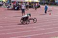 2013 IPC Athletics World Championships - 26072013 - Angela Ballard of Australia during the Women's 400M - T53 first semifinal 14.jpg