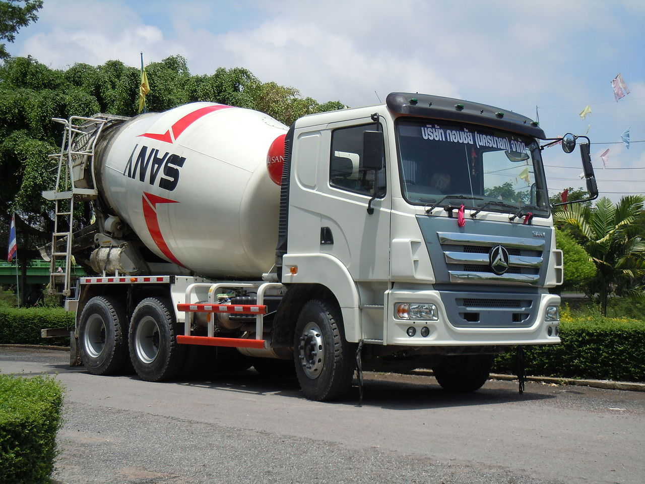 Build Your Own Cement Mixer ~ File sany sy c concrete mixer truck g wikimedia