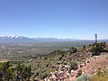 "2014-06-13 12 24 00 View south from the summit of ""E"" Mountain in the Elko Hills of Nevada.JPG"