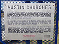 2014-09-08 14 48 55 Austin Churches historic marker along U.S. Route 50 in Austin, Nevada.JPG