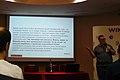 2014 Wikimedia Polska conference in Poznan (PMG, Magalia text).JPG