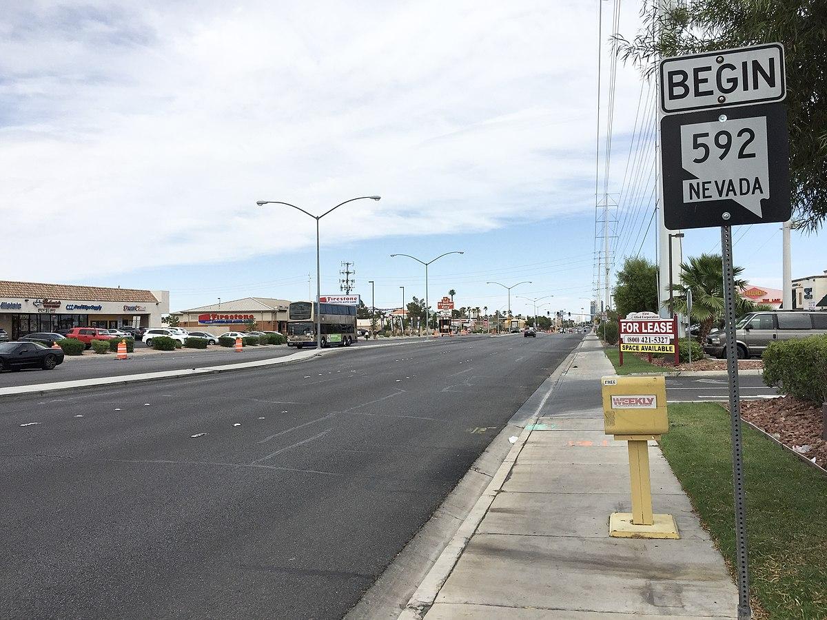 W Flamingo Rd Las Vegas Flamingo Road (...