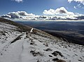 2015-10-29 16 01 03 View south from about 9000 feet along a snow-covered dirt road descending the western slopes of Star Peak, Nevada.jpg