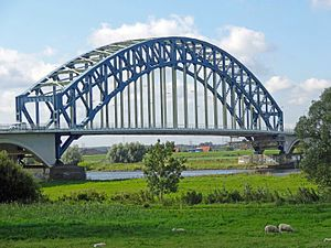 IJssel - Bridge over the IJssel at Zwolle