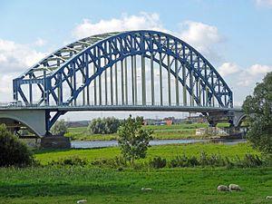 IJssel - Bridge over the IJssel at Zwolle