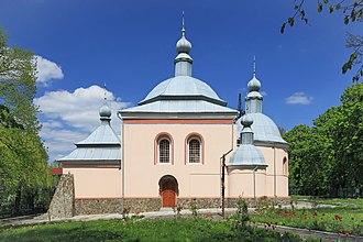 Sokal - Image: 2015 Sokal, Cerkiew św. Mikołaja 01