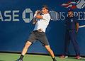 2015 US Open Tennis - Qualies - Jose Hernandez-Fernandez (DOM) def. Jonathan Eysseric (FRA) (20777809828).jpg