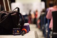 2015 Wikimania press conference.jpg
