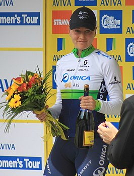 Elvin in The Women's Tour 2015