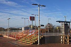 2015 at Cranbrook station - entrance.JPG