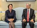 2016-03-22 Senator Amy Klobuchar meets with Merrick Garland 10 (cropped).jpg