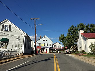 The Plains, Virginia - The center of town