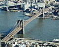 2016 One World Observatory view of Brooklyn Bridge.jpg