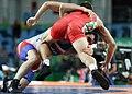 2016 Summer Olympics, Men's Freestyle Wrestling 65 kg 2.jpg