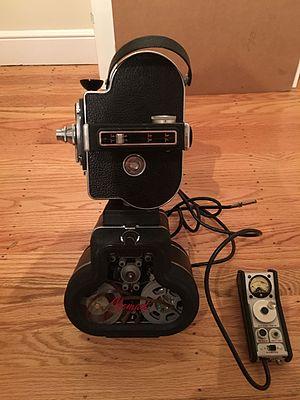 Auricon - Magnsync Nomad recorder with Bolex 16 Camera