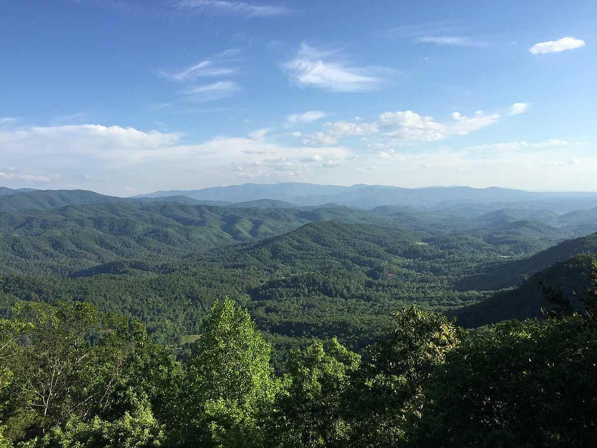 Smoky Mountains Natural Water Slide