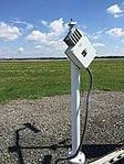 2017-06-06 10 45 28 Freezing rain sensor on the Automated Surface Observing System (ASOS) at Ronald Reagan Washington National Airport in Arlington County, Virginia.jpg