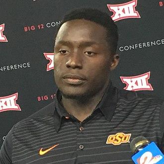 James Washington (wide receiver) - Washington at 2017 Big 12 Media Days
