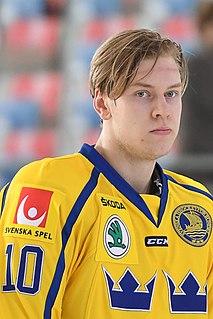 Victor Ejdsell Swedish ice hockey player (1995-)