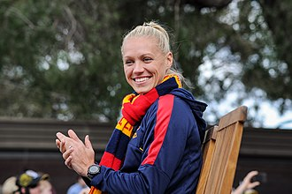AFL Women's best and fairest - Erin Phillips was the inaugural winner of the award in 2017.