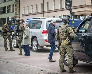 National Task Force - Image: 2017 Stockholm attack 04