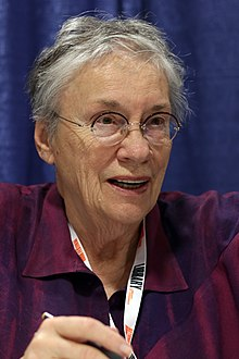 Annie Proulx at the 2018 U.S. National Book Festival