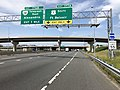 2019-05-29 11 02 26 View south along Interstate 95 and west along the inner loop of the Capital Beltway (Interstate 495) at Exit 177A (U.S. Route 1 South, Fort Belvoir) in Alexandria, Virginia.jpg